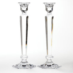 Reed & Barton 'Summit' Candleholders - What can I say? Everyone loves these for a reason: They are timeless.