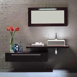 "Monte Carlo - Modern Bathroom Vanity Set - 39"" - Monte Carlo  Modern Bathroom Vanity Set"