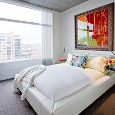 Modern Bedroom by Chimera Interior Design