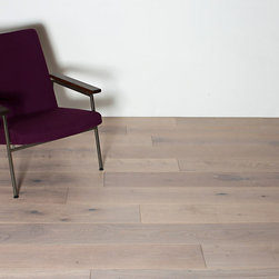 "Royal Oak Collection - Antique White - 7.5"" wide plank UV Oiled engineered floors using European White Oak with a generous 4mm top wear layer."