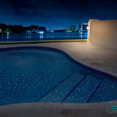 Modern Outdoor Decor by Foreverpools