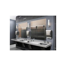 Floor Mounted Overhead Braced – Bathroom Partitions |