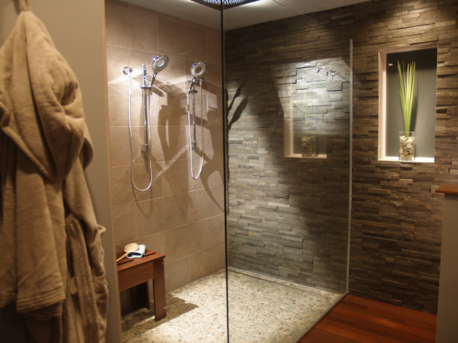 Modern Bathroom by Merkley Supply