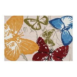 The Rug Market - Monarch Butterflies area rug -