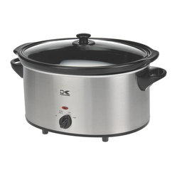 6-quart Slow Cooker, Stainless Steel