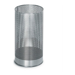 Blomus - Élan Blomus Pako Waste-paper Basket - The Pako Waste-paper Basket by Blomus holds your discarded papers with effortless style. Its minimalist design features a sleek, cylinder body to keep things looking clean and tidy with just a dash of sophistication.
