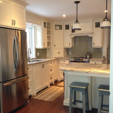 Contemporary Kitchen Countertops by Northern Marble & Granite Co