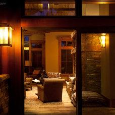 Eclectic Outdoor Lighting by Hammerton Lighting