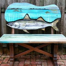 Tropical Benches by Sonrooms,Inc.