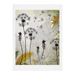 DENY Designs - DENY Designs Iveta Abolina Little Dandelion Art Print - Finally an affordable wall art option! Order one statement print or live on the edge and dream up an entire gallery wall. And whether you frame it or hang it as-is, your walls will be big on inspiration while being kind on your pocketbook.