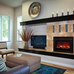 Fireplace Xtrordinair by Travis Industries - FPX 40EI Electric Insert - WATCH ME BURN! https://vimeo.com/72931243