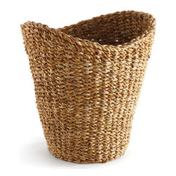 Origin Crafts - Seagrass tall basket - Seagrass Tall Basket Dimensions (in):12.75 x 10.5 x 13.5 By Napa Home & Garden - Napa Home & Garden is a wholesale manufacturer of distinctive home & garden decorative accessories. Estimated Delivery Time 1-2 Weeks. Please be aware that some products are handmade and unique therefore there may be