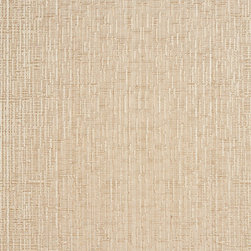 Beige Two Toned Cross Stitch Metallic Sheen Upholstery Fabric By The Yard - This multipurpose fabric is great for residential upholstery, bedding and drapery. This material is woven for enhanced elegance. The sheen of this material varies depending on the light for a unique appearance.