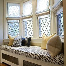 Transitional Windows by Gillian Gillies Interiors (GGI)