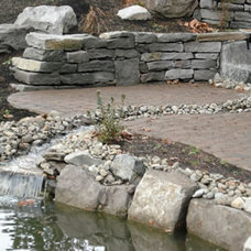 Retainer Walls by VALLEY LANDSCAPE CENTER