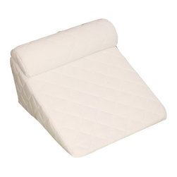 Living Healthy Products - Cover For Acid Reflux Wedge 14 Cobo Pillow Cover Set - 383 Thread Count Soft Pad - Elevated sleeping position to help reduce acid reflux,snoring, sleep apnea and more