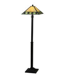 "Meyda Lighting - Meyda Lighting 110588 65""H Maple Leaf Floor Lamp - Meyda Lighting 110588 65""H Maple Leaf Floor Lamp"