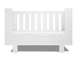 Spot on Square - Eicho Crib Conversion - The Spot on Square Eicho Crib Conversion converts your Eicho Crib to a modern daybed, extending the life of your crib as your child grows. Easily converts by removing one crib side panel and replacing with the conversion panel.