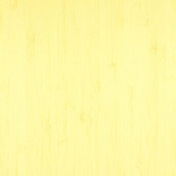 Vertical Natural Bamboo Veneer - Vertical natural bamboo veneer is light creamy yellow in color and is made from laminated strips of bamboo. It is available as a plank (wide) or a vertical (narrow) cut and in a variety of backers and sizes.