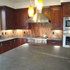 Traditional Kitchen Countertops by THE KITCHEN LADY, Enriching Homes With Style