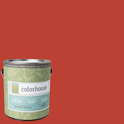 Inspired Eggshell Interior Paint, Petal .06, Gallon - Colorhouse paints are zero VOC, low-odor, Green Wise Gold certified and have superior coverage and durability.   Our artist-crafted colors are designed to be easy backdrops for living. Colorhouse paints are 100% acrylic with NO VOCs (volatile organic compounds), NO toxic fumes/HAPs-free, NO reproductive toxins, and NO chemical solvents.