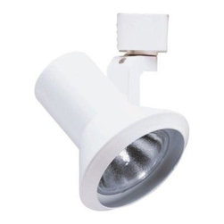 Juno - Juno Trac-Lites Flared-Step White Track Light R551WH - Shop for Lighting & Fans at The Home Depot. The Juno Trac-Lites Flared-Step Track Light offers a contemporary shape. It provides exceptional task and accent lighting when installed on the economical Juno Trac-Lites system. The perfect blend of form, function and value, this fixture features a durable, drawn-steel housing with a high-quality white finish.