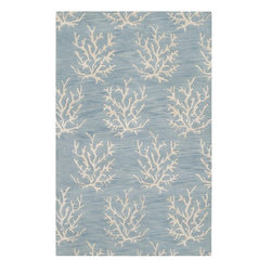Somerset Bay - Somerset Bay Escape Hand Tufted Wool Rug X-32-3103PSE - The Escape collection by Somerset Bay for Surya includes sophisticated rugs in beautiful coastal-inspired palettes. These hand tufted rugs feature patterns of Starfish, Coral, and Whimsical Seaweed. One look at this collection of rugs and you are transported to a calming coastal retreat, bringing to mind that feeling of summers spent in the sun and surf. Whether you are decorating your own coastal cottage, or just want that coastal feel in your home, any rug from this collection will be the perfect choice.