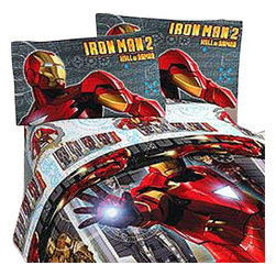 Jay Franco and Sons - Iron Man Hall Armor 3 Pieces Twin-Single Bedding Sheets Set - Features: