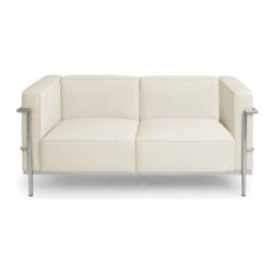 Nuevoliving - Nuevo Living Madrid Sofa - White Color - Features: