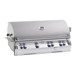 Firemagic - Fire Magic Echelon Diamond Built-in Stainless Steel Gas Grill - When only the best will do,this top of the line Fire Magic gas grill combines the ultimate in performance,beauty and innovation. With sleek lines,this durable and powerful Diamond Echelon defines luxury in grilling.