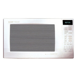 Sharp - 1.5 CF, 900 Watts, Convection, Sensor, Interactive System - 900-watt convection microwave oven with 1.5 cu. ft. capacity|4-way convection system: browns, bakes, broils and crisps|15.4 inch turntable and 2 stainless steel racks|7-digit, interactive, 2-color display|Lighted stainless steel oven interior|CompuBroil, CompuRoast, CompuBake and CompuDefrost|Temperature control in 25-degree increments|Smart & Easy Sensor automatically determines heating times and power levels|Programmable 4 stage cooking with 11 variable power levels|Reheat and popcorn sensors|  sharp| r-903aw| r930aw| r 930aw| microwave| convection| oven| 1.5| cu| ft| 900w| 900-watt| 900-watts| 900| w| watt| watts| stainless| steel| interior  Package Contents: microwave|turntable|turntable support|2 racks|manual|warranty  This item cannot be shipped to APO/FPO addresses  Sharp will no longer take back any Sharp product as a DOA.