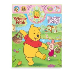 Publications International Ltd. - Winnie the Pooh Easter Songs - This Play-Along storybook lets children age 18 months and older sing along to 10 familiar melodies with Winnie the Pooh, Piglet, Eeyore and all their friends in the Hundred Acre Wood.