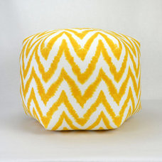 20 Wide By 15 Tall Floor Ottoman Pouf Pillow Corn by Zeldabelle