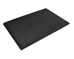 WellnessMats - WellnessMats Maxum Mat Black - 3' x 2' - WellnessMats Maxum Mat Black - 3' x 2' - MMR23    The Maxum Mat is engineered to be tougher, with a strong grip textured surface making it perfect for your home shop or garage, a hobby-room, or even the home gym - where the industrial looks meets the need for performance engineering and comfort.