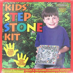Kids Stepping Stone Kit - I know this is an oldie, but it is a goodie! Of all the Mother's Day gifts I've received, the hand-print stepping stones my kids have made me over the years are so precious. They are sprinkled throughout my flower beds.