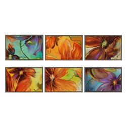 Paragon Art - Paragon Modernismo ,Set of 6 - Artwork - Modernismo ,Set of 6           ,  Paragon Textured Plaque      Artist is Pinto , Paragon has some of the finest designers in the home accessory industry. From industry veterans with an intimate knowledge of design, to new talent with an eye for the cutting edge, Paragon is poised to elevate wall decor to a new level of style.
