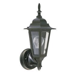 Quorum International - Quorum 790-15 1Lt Cast Aluminum Lantern - B Light Kit - Quorum 790-15 1LT Cast Aluminum Lantern - B Light Kit