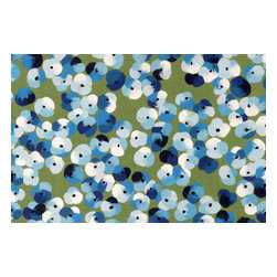 Trans-Ocean - Pansy Blue Mats 4138/03 - The highly detailed painterly effect is achieved by Liora Mannes patented Lamontage process which combines hand crafted art with cutting edge technology.The 100% Polyester face, and 100% Recycled Rubber non-skid backing make this suitable for Indoor or Outdoor use and easy to clean.The low profile nature of these Lamontage mats is ideal for use in front of doors or in the kitchen, and the fun designs will bring excitement to any room of the house.