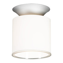 Marset - Olav Light - Olav Light from Marset designed by Cristian Diez Simple, elegant, suspended or wall mounted. The Olav Light from Marset uses a refined, minimal design that is sure to add a modern touch to any space. The cylindrical shape generates light downward for a soothing light pattern. The opal glass and diffuser ensure a soft, welcoming lighting experience. The Olav Light is available as a ceiling mounted or suspended version.