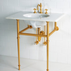 Traditional Bathroom Vanities And Sink Consoles by Lav•ish - The Bath Gallery