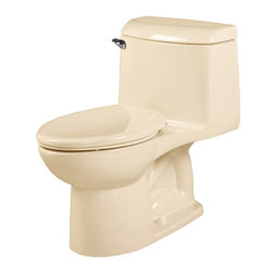 "American Standard - American Standard 2034.014.021 Champion Right Height 4 Elongated Toilet, Bone - American Standard 2034.014.021 Champion Right Height 4 One-Piece Elongated Right Height Toilet, Bone. This elongated combination toilet features a vitreous china construction, an EverClean surface, a 4"" piston action Accelorator flush valve, a 12"" Rough-in, a 2-3/8"" fully-glazed trapway, and an elongated siphon action bowl. This model measures 28-3/8"" by 18-1/4"" by 31-3/8"", and it has a low-consumption 1.6 GPF."