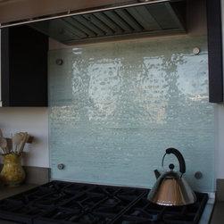 Fusion Glass Backsplash - Brooks Custom - Fusion glass backsplash - Brooks Custom