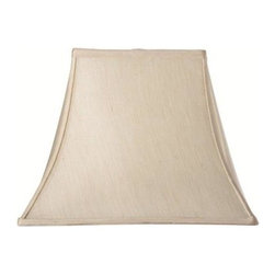Home Decorators Collection - Home Decorators Collection Rectangular Bell 12 in. H x 16 in. W Medium Ivory Sil - Shop for Lighting & Fans at The Home Depot. The classic shape of our Rectangular Bell Silk Lamp Shade will complement a wide variety of decorating concepts. The gentle curves and pointed corners make a striking statement. Add this beautiful shade to your lamp and order yours today.
