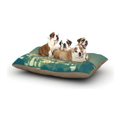 "Kess InHouse - Myan Soffia ""Anniversary"" City Lights Fleece Dog Bed (30"" x 40"") - Pets deserve to be as comfortable as their humans! These dog beds not only give your pet the utmost comfort with their fleece cozy top but they match your house and decor! Kess Inhouse gives your pet some style by adding vivaciously artistic work onto their favorite place to lay, their bed! What's the best part? These are totally machine washable, just unzip the cover and throw it in the washing machine!"