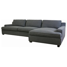 Modern Sectional Sofas by Baxton Studio