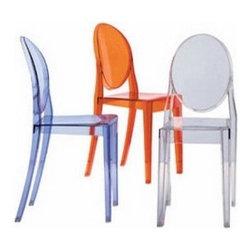 Kartell - Kartell | Victoria Ghost Chair - Design by Philippe Starck.