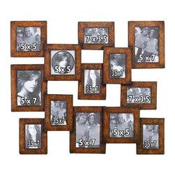 "BZBZ99799 - Wood Wall Photo Frame 29""W, 24""H - Wood Wall Photo Frame 29""W, 24""H"