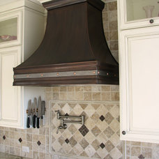 Kitchen Hoods And Vents by Art of Rain