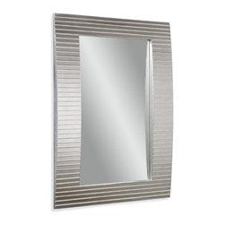 Bassett Mirror - Bassett Mirror Tambour Wall Mirror - Tambour Wall Mirror