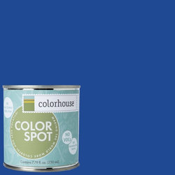 ColorSpot Eggshell Interior Paint Sample, Petal .05,  8-oz - Test color before you paint with the Colorhouse Colorspot 8-oz  paint sample. Made with real paint and in our most popular eggshell finish, Colorhouse paints are 100% acrylic with NO VOCs (volatile organic compounds), NO toxic fumes/HAPs-free, NO reproductive toxins, and NO chemical solvents. Our artist-crafted colors are designed to be easy backdrops for living.